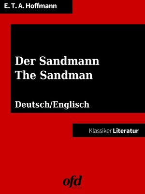 cover image of Der Sandmann--The Sandman